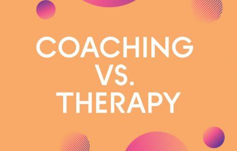 Coaching vs therapy